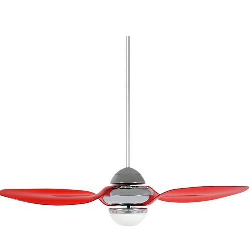 54in LIBELLULA - Translucent Red