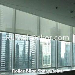 Roller Blind Sharp Point